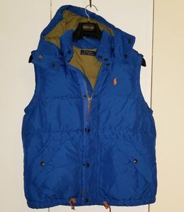 Ralph Lauren hooded vest